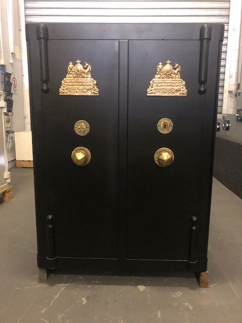 HOBBS, HART CO ANTIQUE SAFE DATING BACK TO LATE 1800'S REDUCED ( SOLD)